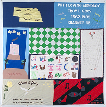 Northeast to observe World AIDS Day with virtual memorial quilt display