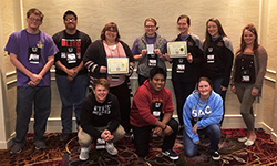 Northeast student groups recognized at regional conference