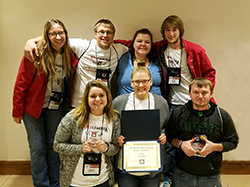 Northeast students earn campus promotion honors