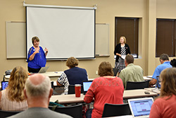 Northeast hosts in-service for adjunct faculty