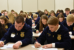Record attendance at FFA Ag Education Contest