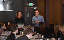 Restaurant owners share insights with Northeast business students