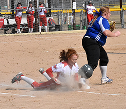 Northeast-Briar Cliff JV split softball doubleheader
