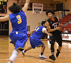 Men's basketball caps Hawks Holiday Classic with win over Briar Cliff JV