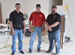 Building construction instructors put their skills to the test