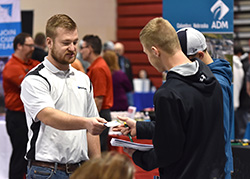 Ninety employers participate in Northeast Spring Career Fair