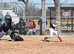 Northeast softball splits home opener with Central