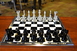 Northeast students score checkmate with unique chess set