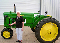 Tractors to be displayed at Nexus groundbreaking