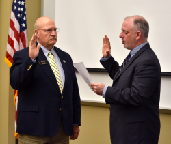 Ellis sworn in as new Northeast board member
