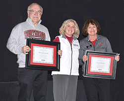 Honke, Schram granted emeritus status
