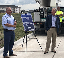 Ferguson recognized with street name in new Norfolk subdivision