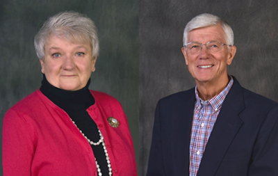 Gerharter and Holmberg recognized with Northeast distinguished service award