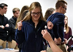 High school students explore medical careers at HOSA event