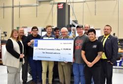 Haas Foundation donates $10,000 for manufacturing scholarships