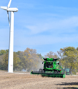 Fall harvest underway at Northeast