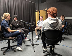 Podcast explores diversity on Northeast campus