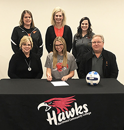 Stanton standout to play volleyball at Northeast