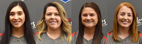 Hawks softball players earn postseason honors