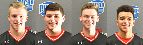 Smith, Bales, Dumont and Hunter earn all-conference honors