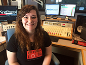 Former student earns state broadcasting scholarship