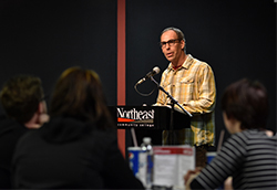 Maine writer speaks at Northeast