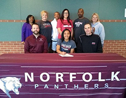 Norfolk High standout signs with Northeast women's basketball