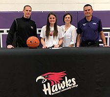 Burwell's Mann to play basketball at Northeast