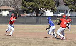 Northeast baseball wins first-ever home game with walk off, 19-18