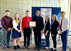 PBL team takes 3rd at inaugural business competition
