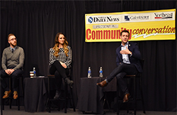 Conversation at Northeast focuses on recruiting young professionals to the region