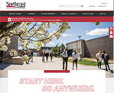 Northeast launches new website