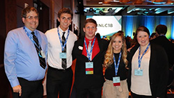 Northeast business students earn honors at national conference