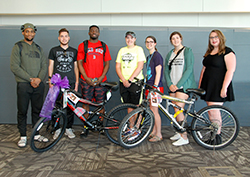 Northeast student group provides bicycles to international students