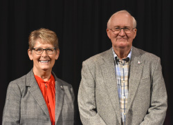 Oelsligle & Petsche receive Northeast distinguished service award