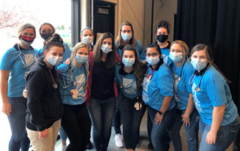 Northeast nursing students assist with effort to help families in need
