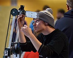 Students compete in Northeast robotics competition