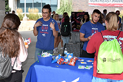Northeast students sign up for clubs, activities