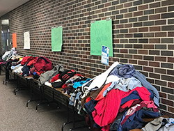 "Northeast student groups ""share the warmth"" with collaborative project"
