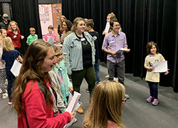 Area youth spend the day acting out at Northeast