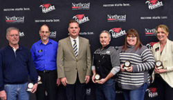 Northeast employees recognized by US Bank