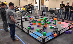 Northeast hosts world qualifying robotics tournament