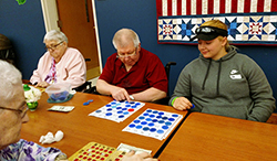 Northeast visits Norfolk Veterans Home