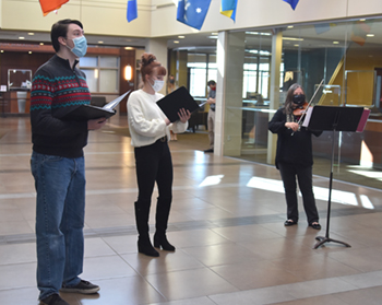 Veterans Day Pop-Up Concerts at Northeast