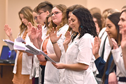 Special ceremony held for veterinary technology students