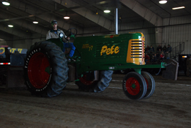 10th Annual Indoor Tractor Pull at Northeast - Northeast